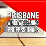 """Featured image text: """"Brisbane Window Cleaning Professionals""""."""